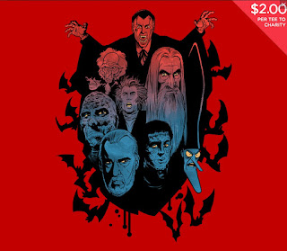 Prince of Darkness t-shirt at TeeFury