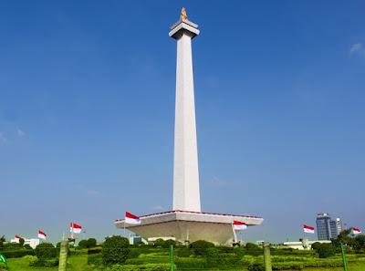 Monumen Nasional (Monas) Salah Satu Icon Jakarta
