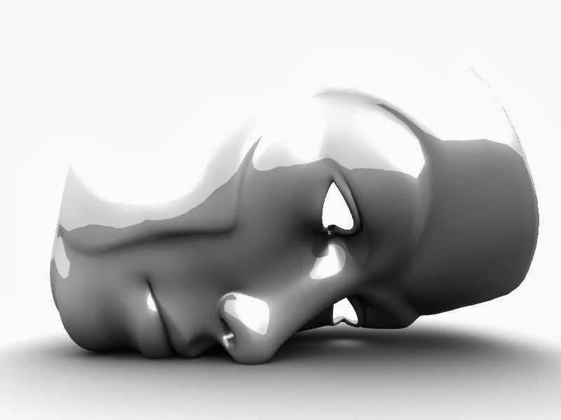 antiumanesimo, antiteismo, maschera, senza volto