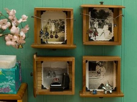 Marcos reciclados ideas para reutilizar y - Marcos fotos baratos ...
