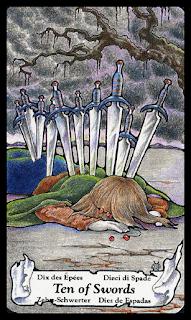 ten of swords, tarot hanson roberts
