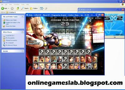 tekken 5 pc games characters,kazuya,jin kazama,king,paul