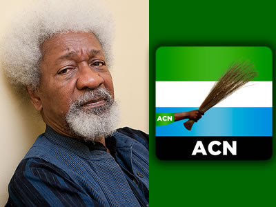 Soyinka/ACN Condemns FG Actions On Amaechi