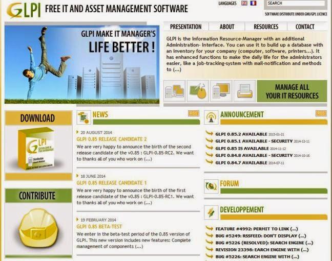 GLPI Software Gratis Untuk Management Aset IT
