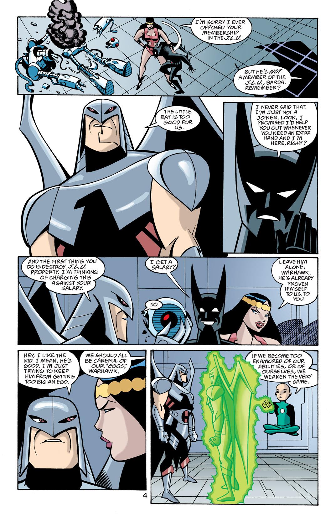 Batman Beyond [II] Issue #21 #21 - English 5