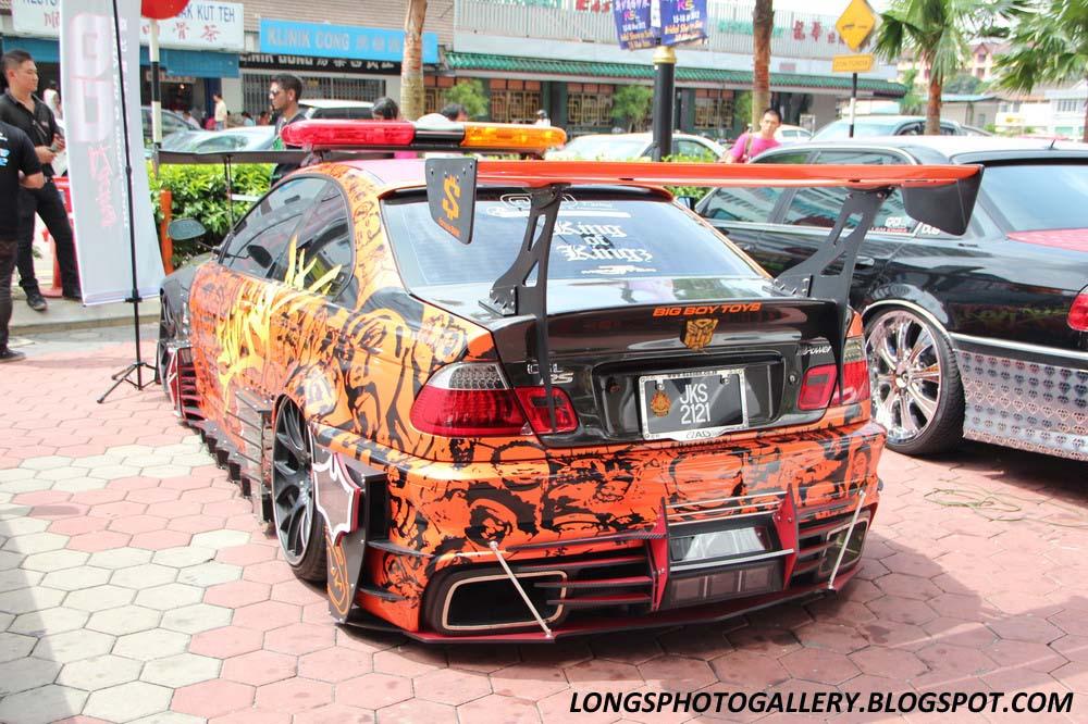 Extreme BMW E46 Coupe Autoshow