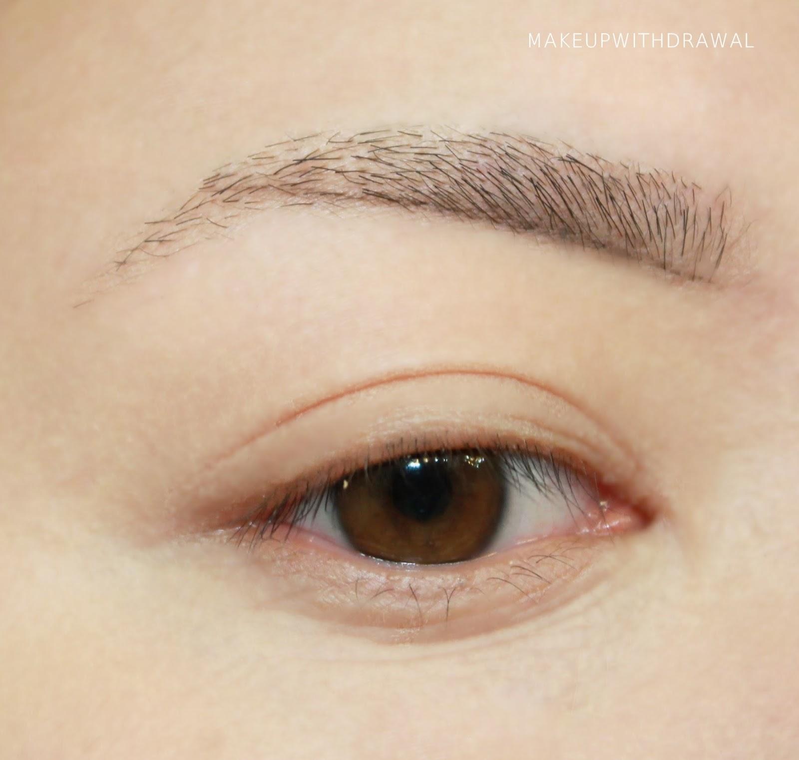 Natural Brow Tutorial Makeup Withdrawal