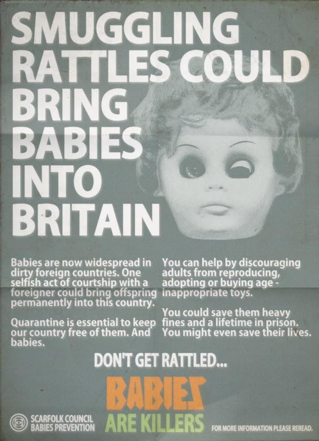 "Scarfolk Council: ""Babies Are Killers"" Awareness Week (Part 1)"