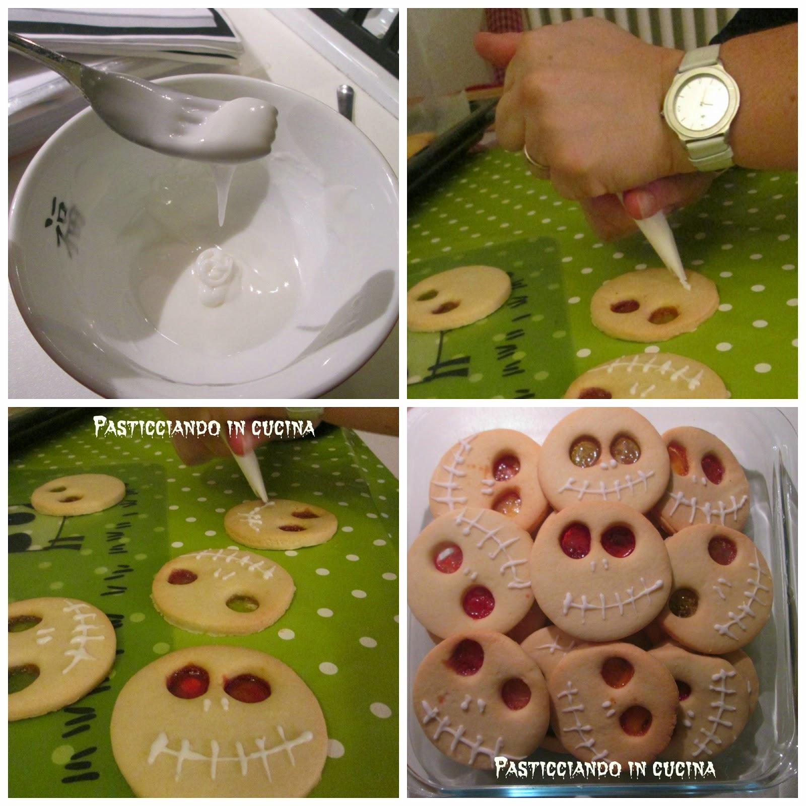 Pasticciando In Cucina: Biscotti Mostruosi Per Halloween #4F5D08 1600 1600 Ricette Cucina Disegnate