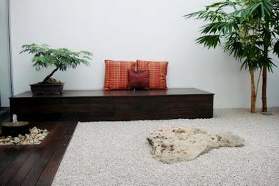 10 increibles jardines minimalistas de inspiraci n zen ideas para jardines acogedores zen ambient - Decoracion jardin zen ...