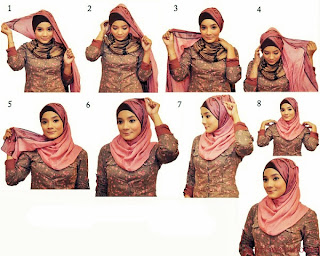 Unique Mode: Mode: Cara berjilbab modern
