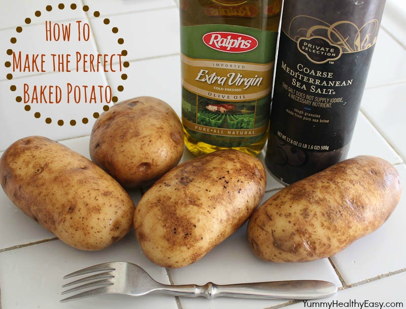 how to make baked potatoes without foil