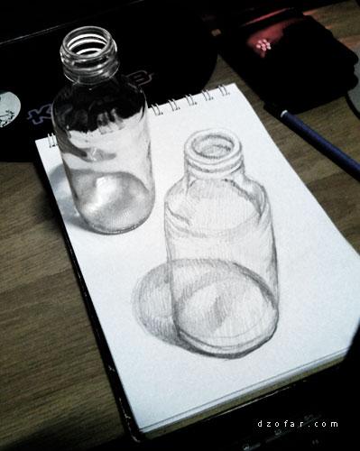 Ilusi 3D botol by ndop™