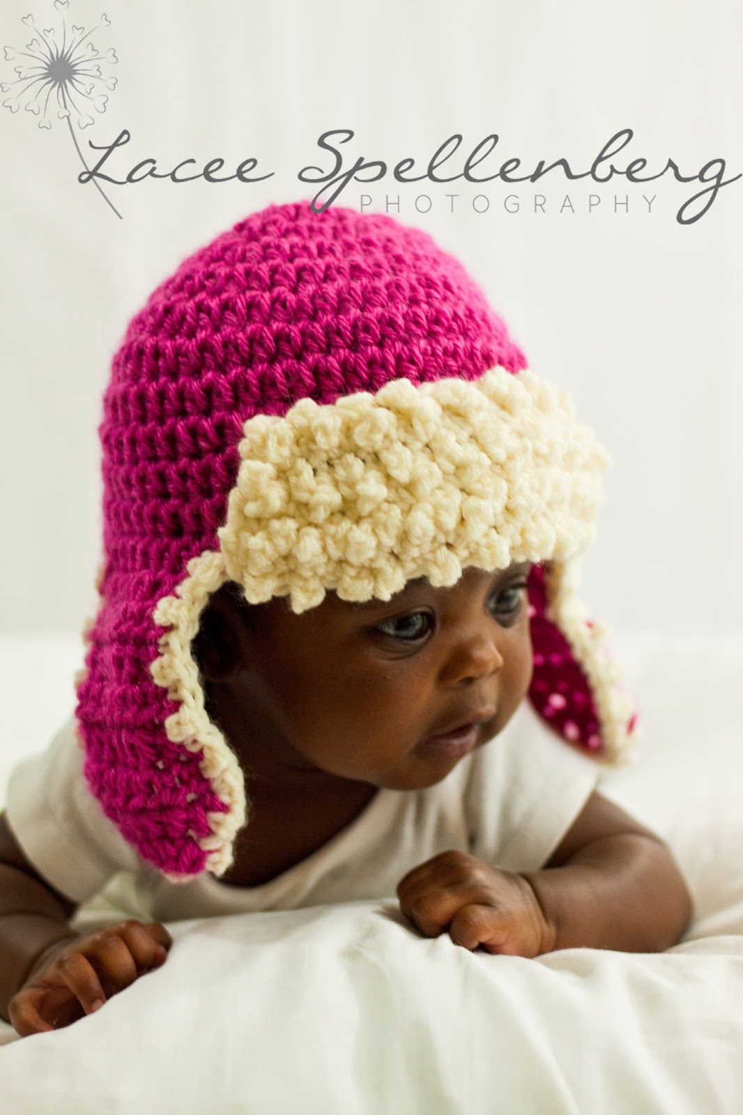 Crochet Newborn Aviator Hat Pattern : Crochet Dreamz: Aviator Hat Crochet Pattern, Newborn Baby ...