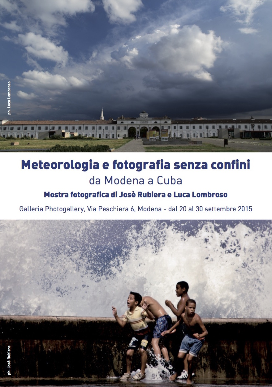 Ricevo da Modena: Mostra fotografica