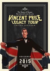 Vincent Price Legacy Tour UK