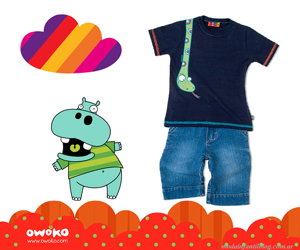owoko moda infantil verano 2014