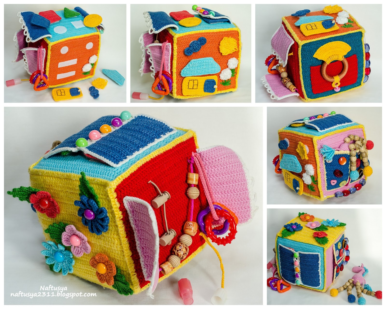 Развивающий кубик своими руками фото 418