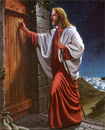 Resultado de imagem para jesus batendo a porta