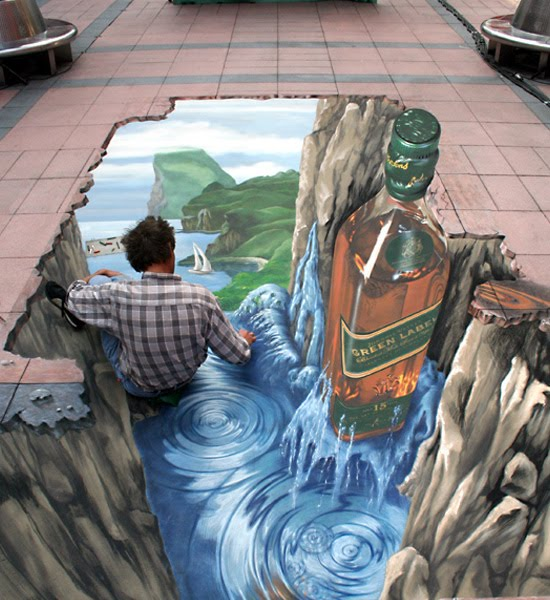 Life Around Us: Street Art- Amazing Art