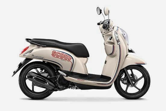 Honda Scoopy FI Sporty Capital Cream