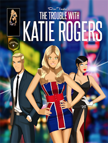 Fashion adventure Comic! THE TROUBLE WITH KATIE ROGERS MOTION BOOKS