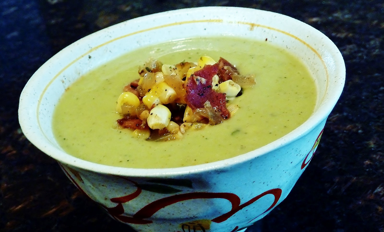 Christine's Kitchen Chronicles: Cold Avocado Soup with ...