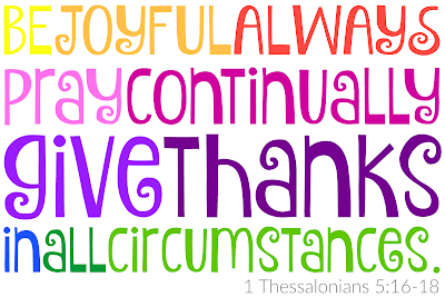 While I'm Waiting...Attitude of Gratitude - 1 Thessalonians 5:16-18