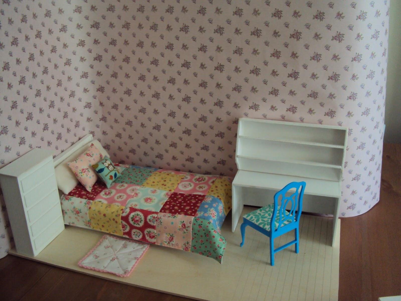 Mercedes y sus mu ecas manualidades etc diorama o for Sala de estar barbie