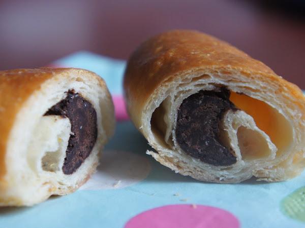 Napolitana Chocolate (glutenfreies Pain au chocolat)