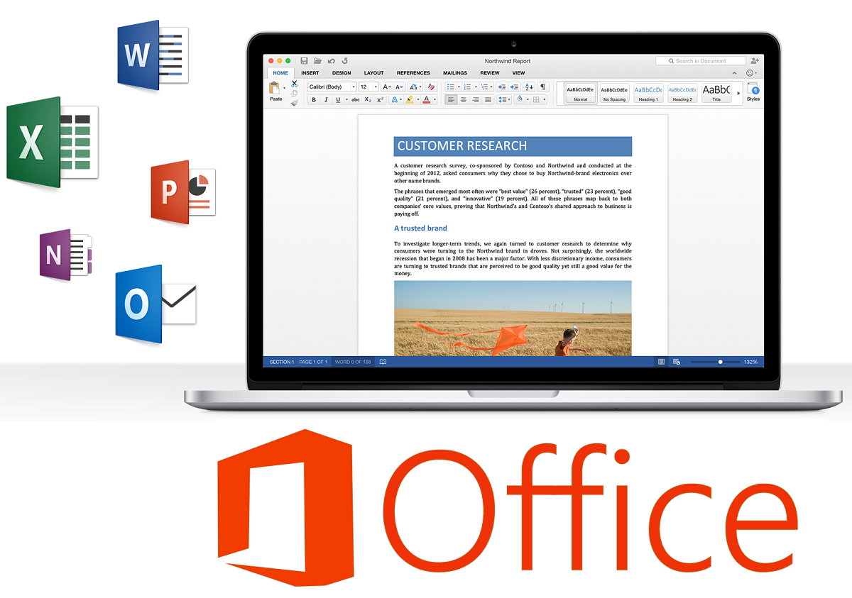 Microsoft Office 2016 Beta for Mac OS X Free