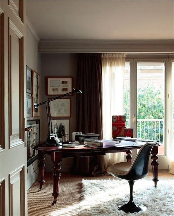 mesa + silla zona de trabajo