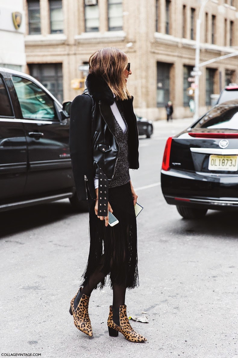 Street Style Chic Street Style Nyfw Fall 2015 Cool