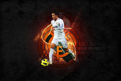 Red Cristiano Ronaldo Madrid Wallpapers 1024x768