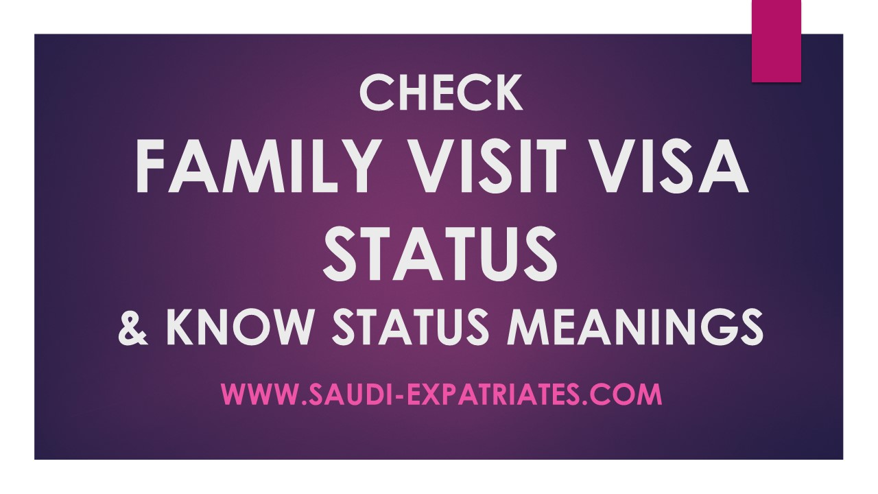 Family Visit Visa Status Online 1 Cek Message