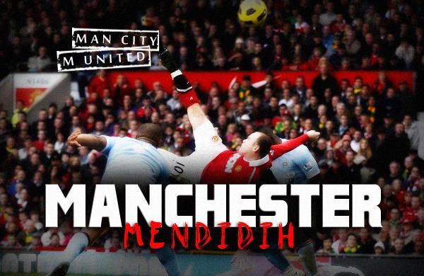 City vs Manchester United Liga Inggris 2012-2013 (Minggu 9 Desember