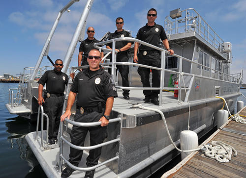 La port police for La port police