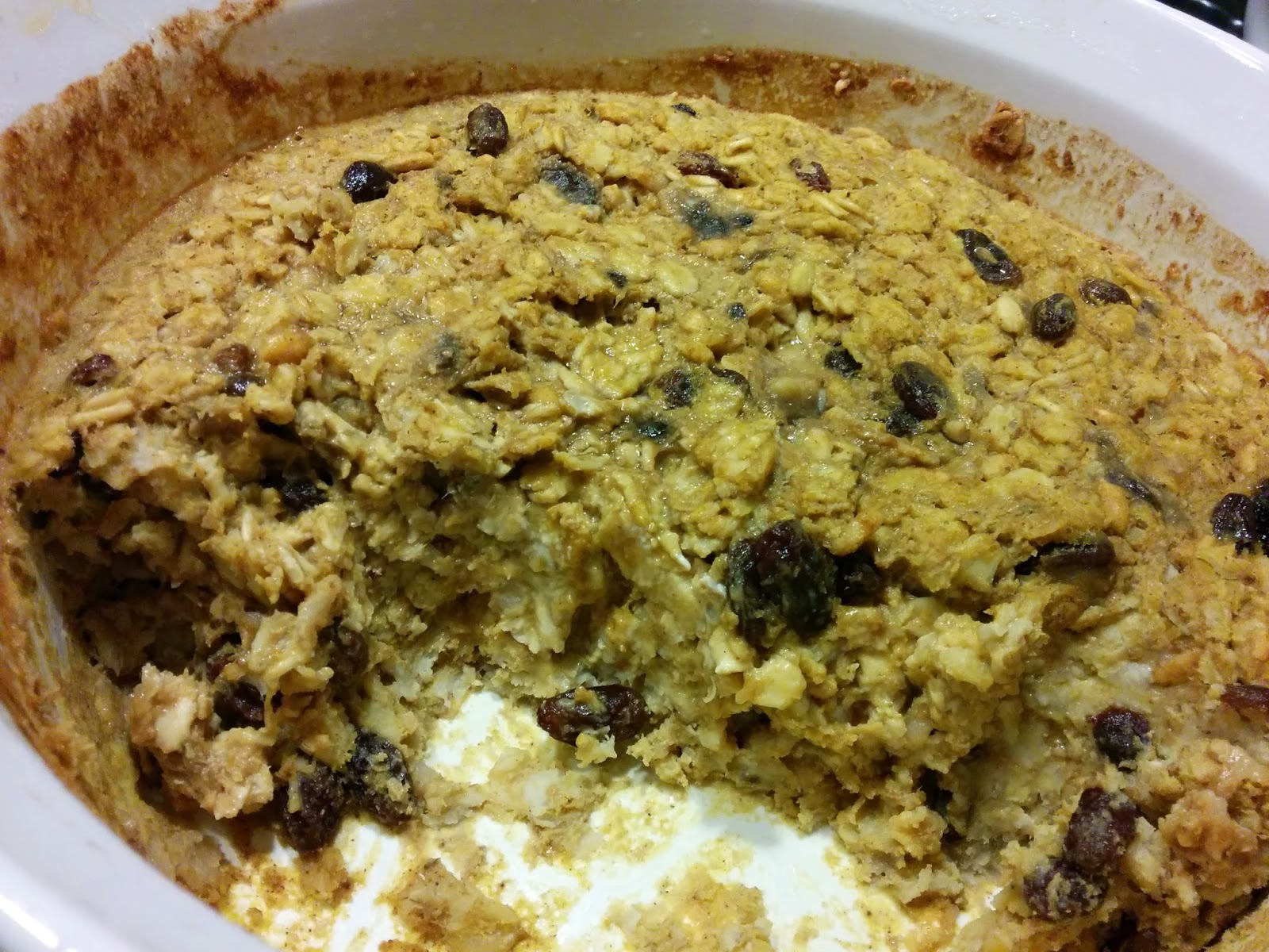 pumpkin banana baked oatmeal 2 t coconut oil 2 ripe bananas 15 oz can ...