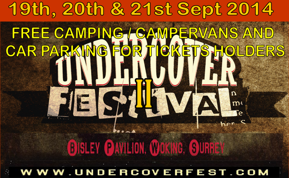 Undercover Festival 2014 announce Sunday Line up