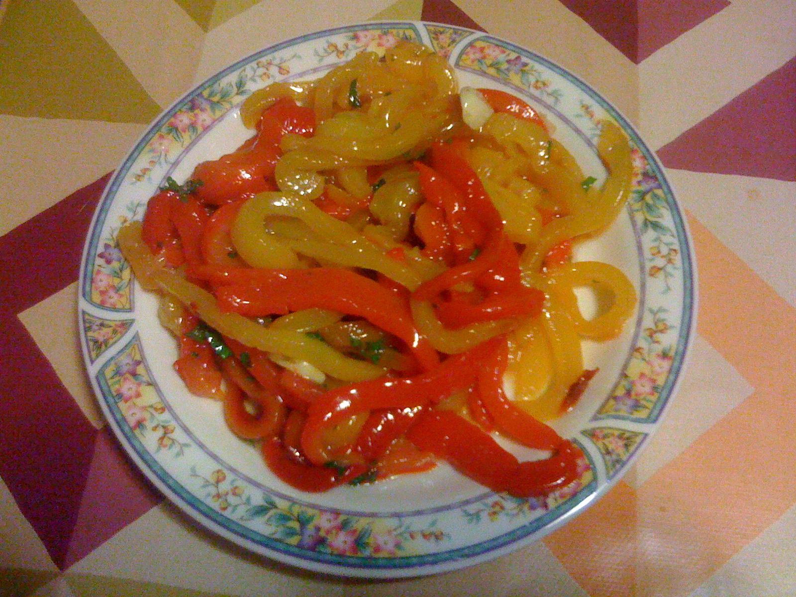La gioia di cucinare peperoni grigliati - Cucinare i peperoni ...