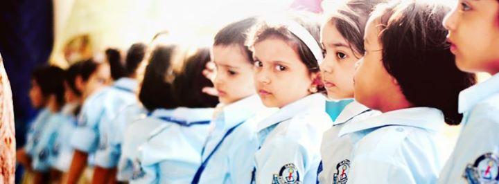 Cute kids at dawood public school