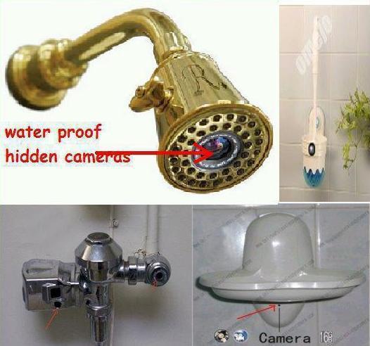 Bahaya - Kamera Bersembunyi Di Bilik Air