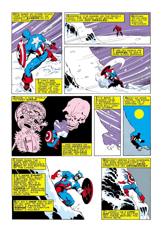 Captain America (1968) Issue #322 #250 - English 13
