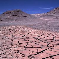 en los desiertos llueve poco