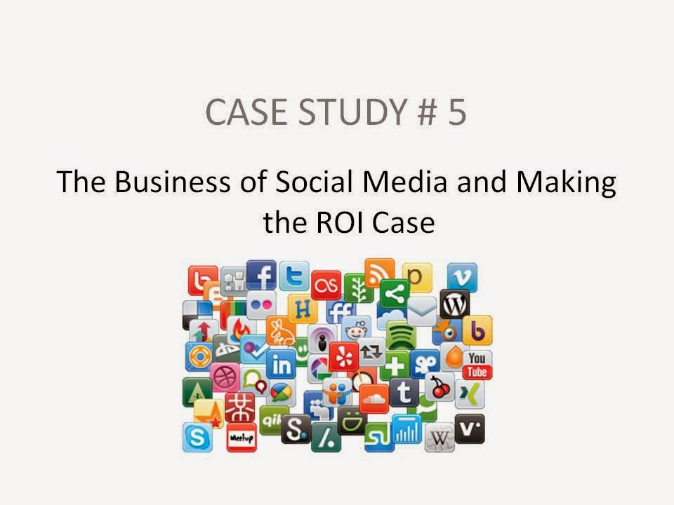 case studies social media roi Has long been engaged in social media activity, often running campaigns alongside its ongoing engagement strategy to demonstrate the.
