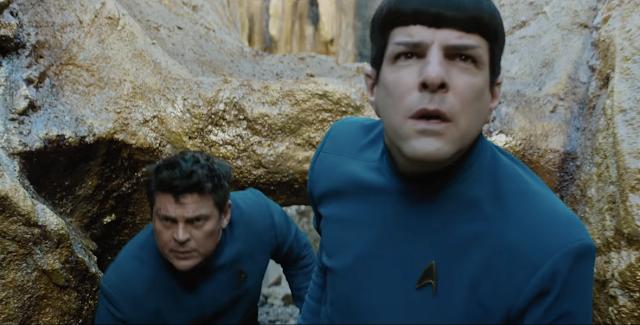 Assista ao trailer de Star Trek: Sem Fronteira, com Chris Pine e Zachary Quinto