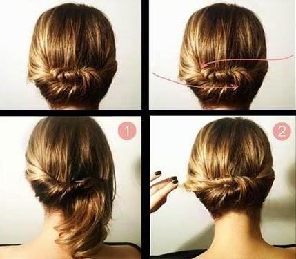 Hairstyle Steps For Girls