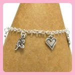 Hearts and Flowers Bracelet