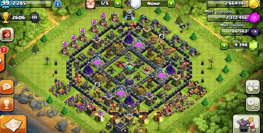 Coc Most Defensive Base Lvl 8 | 2017 - 2018 Best Cars Reviews