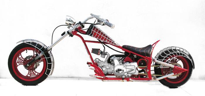 auto mobiles  mini chopper bike